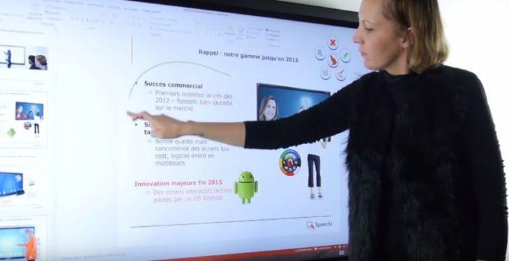 ecran interactif geant